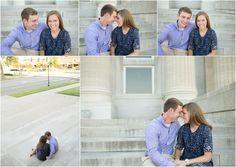 Wichita engagement portraits. Engaged. Erin Kata Photography.