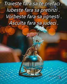 Good Morning Images, Sad Quotes, Love Life, Glass Vase, Meditation, Words, Day, Inspirational, Good Afternoon