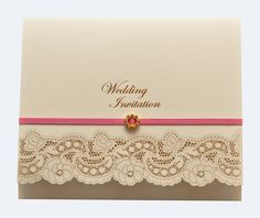 Vintage Wedding Invitations-Set the Tone for a Timeless Wedding Wedding Invitation Samples, Invitation Card Design, Vintage Wedding Invitations, Wedding Invitation Design, Wedding Stationery, Shower Invitations, Invites, Paper Crafts Wedding, Vintage Lace Weddings
