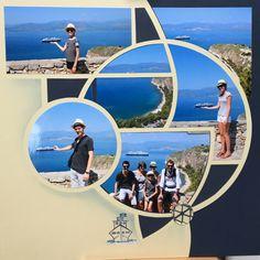 gabarit Orion: le gabarit des journées Cabana – Johannascrappe Bali, Cruise Scrapbook, 4 Photos, Cabana, Bilbao, Scrapbook Pages, Scrapbook Layouts, Digital Scrapbooking, Illusions