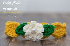 Pretty Shells Headband - Free Crochet Pattern | www.thestitchinmommy.com