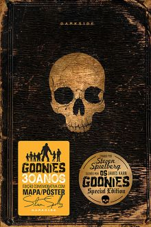Os Goonies, by James Kahn Os Goonies, Darkside Books, Beautiful Book Covers, Book Worms, Editorial, Eye, Creative, Book Design, Book Jacket
