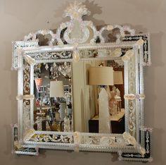 1stdibs.com | Delicate Venetian Mirror $7200