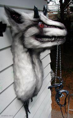 Fake taxidermy critter. $140.00, via Etsy.