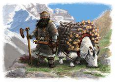 DWARVEN MOUNTAINEER by Artigas on DeviantArt Hobbit, Fantasy Races, Fantasy Armor, Character Concept, Character Art, Character Design, Dnd Characters, Fantasy Characters, Dark Souls