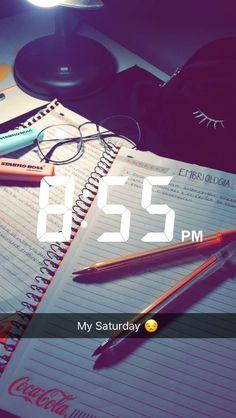 My Saturday  - via Snapchat pamvbarpp