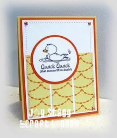 Made by Joy Stagg using OCL stamp set: The Pond