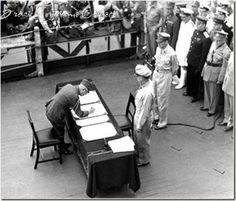 1945 - RENDIÇÃO JAPONESA NA 2ª GUERRA