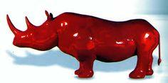 """Résultat de recherche d'images pour """"rhinocéros art contemporain"""""""