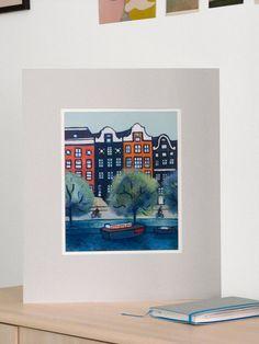 Chemins contraires, peinture acrylique et pigments, impression en édition limitée, tirage pigmentaire Beaux Arts (Fine Art)