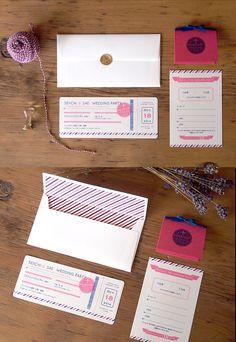 結婚式ペーパーアイテム -招待状- wedding paper item -invitation-