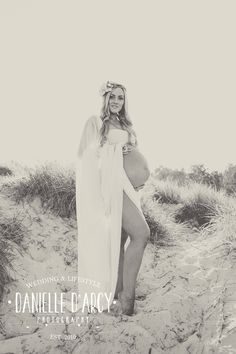 Skye's Beautiful Beach Maternity Session By Danielle D'Arcy Photography/Fawn Over Baby