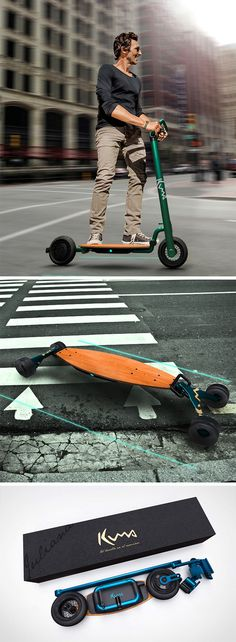Kuma is a series of personal mobility vehicles aim to become worthy replacements of automobiles.