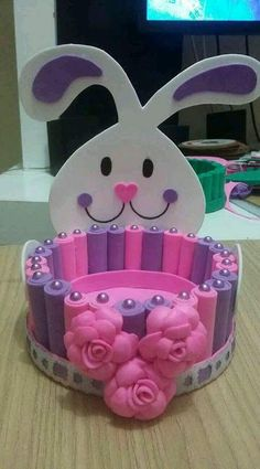 (notitle) The post appeared first on Berable. Kids Crafts, Foam Crafts, Diy Home Crafts, Diy Arts And Crafts, Easter Crafts, Holiday Crafts, Moldes Para Baby Shower, Ideas Para Fiestas, Quilling Designs