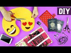 6 DIYs ÚTEIS PARA SUA VIAGEM ✈  Ft. Nina Braz   Almofada de Viagem + Organizadores - YouTube