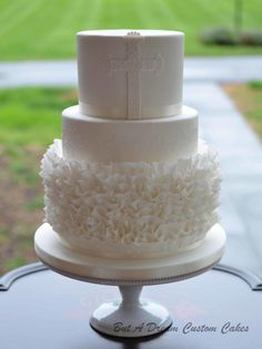 First Communion Cake by Elisabeth Palatiello