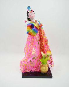 "Amazon.com: Korean Doll - Korean toy- 30cm/12"" tall - Asian Doll - KR012"