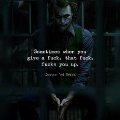 Sometimes when you give a fuck that fuck fucks you up. via (http://ift.tt/2qdjhV6)