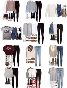 teenager outfits for school . teenager outfits for school cute Winter Outfits For School, Casual School Outfits, Cute Casual Outfits, Fall Outfits, Grunge Outfits, Back To School Outfits For College, Cute Middle School Outfits, Back To School Shoes, Stylish Outfits