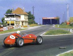 1958 GP Francji (Reims) Ferrari 246   (Wolfgang Von Trips)