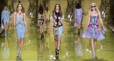 Versace's SS14 Women's Collection #runways