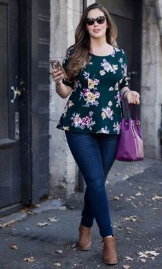 15 plus size outfits with peplum tops you can wear too