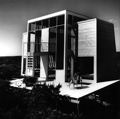 Frank House,  Fire Island Pines, NY by Andrew Geller,1958