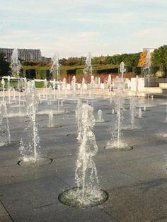 Parisian fountains