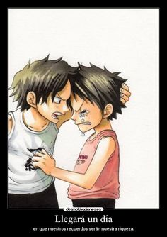Image de one piece, ace, and luffy One Piece Ace, One Piece New World, Anime One Piece, One Piece Comic, One Piece Luffy, Film Manga, Manga Anime, One Piece Pictures, One Piece Images