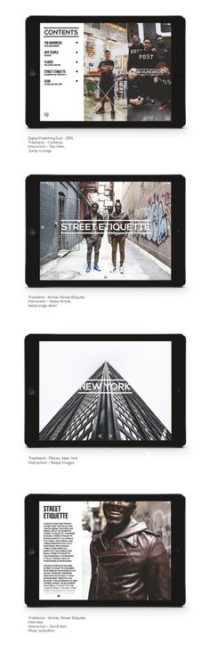 Interactive Magazine Design - #DigitalMedia Adobe InDesign