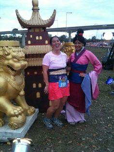Disney Princess Half Marathon: Cosplay with a Twist | GeekMom | Wired.com   Mulan!