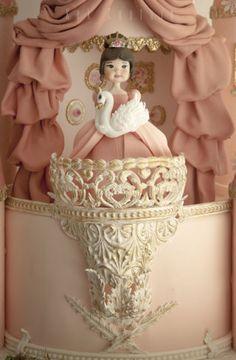 Castle Cake - cake by Kek Couture - CakesDecor Castle Birthday Cakes, Castle Cakes, Disney Castle Cake, Disney Themed Cakes, Princess Theme Birthday, Happy Birthday Cake Images, Cool Cake Designs, Mom Cake, Amazing Wedding Cakes