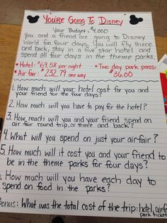Multiply and divide Decimals - maybe play disney songs while they work? Sixth Grade Math, Teaching 5th Grade, Fourth Grade Math, Teaching Math, Teaching Ideas, Math Enrichment, Math Charts, Multiplying Decimals, Dividing Decimals