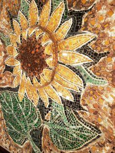 sunflower (di mosaico di Marzia Dottarelli)