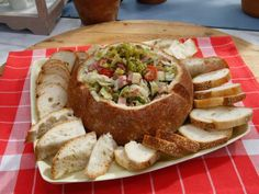 Windy City dip- like an Italian sub!  http://www.foodnetwork.com/recipes/jeff-mauro/windy-city-deli-dip.html