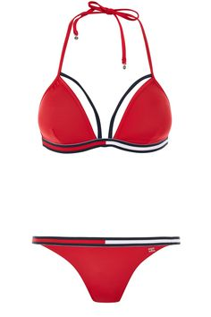 69f20a0cb6c3   Triangle Bikini Top and Tanga Bottoms Set by Tommy Hilfiger - Vêtements-  Topshop