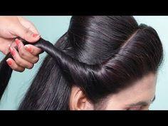 Box Braids Hairstyles, Indian Hairstyles, Girl Hairstyles, Easy Hairstyle, Easy Party Hairstyles, Saree Hairstyles, Hairstyle Ideas, Wedding Hairstyles For Girls, Bridal Hairstyle Indian Wedding