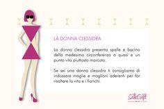 DONNA CLESSIDRA Il nostro articolo: http://www.stilefemminile.it/quali-sono-le-forme-femminili/
