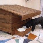 DIY Wood Pallet Dog House!