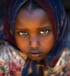 Yabelo girl, Ethiopia. Eric Lafforgue.