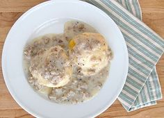 Goodness I love biscuits and gravy waaaay more than is healthy!
