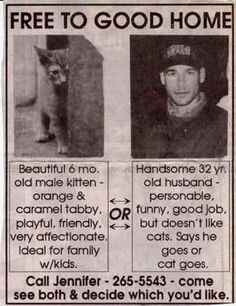 love this !!! spouse or cat