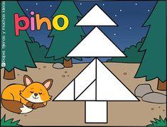 Math Bingo, Tangram, Sonic The Hedgehog, Origami, Clip Art, Fictional Characters, Christmas Activities, Beautiful Children, Kids Math