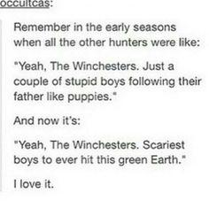 The winchester boys Supernatural Tattoo, Supernatural Imagines, Supernatural Tumblr, Supernatural Tv Show, Castiel, Supernatural Crossover, Winchester Supernatural, Winchester Boys, Winchester Brothers