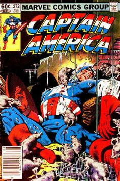 Captain America # 272 by Mike Zeck & John Beatty