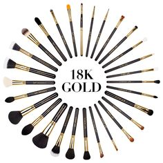 Sigma Beauty Extravaganza Complete Kit 18K Gold. The Sigma Beauty EXTRAVAGANZA COMPLETE KIT 18K GOLD is a lavish assortment of hand-crafted brushes with 18K gold plated ferrules. The Extravaganza Complete Kit features twenty-nine of our best-selling brushes and comes in a deluxe carrying case, perfect for traveling and storage. Everything you need for a luxurious makeup application.