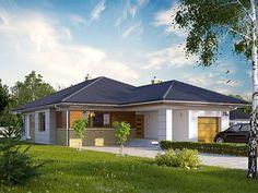 Aster 2 projekt domu - DOMY w Stylu Modern Properties, Kerala House Design, Kerala Houses, House Elevation, Minimalist Home, My Dream Home, Exterior Design, Home Projects, Tiny House