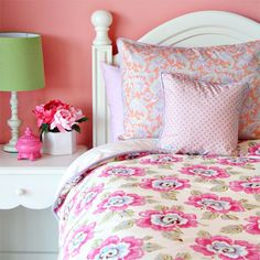 Jayma Floral Bedding Collection and Nursery Kid Sets in Bedding : Bedding For Girls at PoshTots