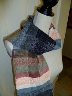 Hand Woven Scarf, Currently for sale by me, Michaela Whitney on Etsy