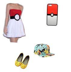 """Pokemon"" by kacey1960 ❤ liked on Polyvore"